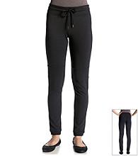 Halcyon Black Knit Pant