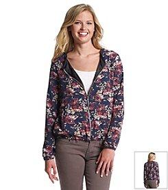 Olive & Oak Outfitters® Floral Bomber Jacket