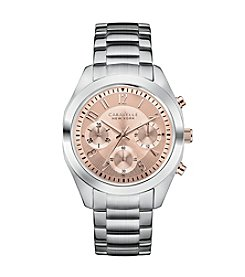 Caravelle by Bulova® Women's Stainless Caravelle Chronograph Watch