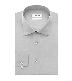 Calvin Klein Men's Big & Tall Regular Fit Long Sleeve Dress Shirt