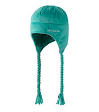 Columbia Girls' Oceanic Pearl Plush Hat with Braided Ties
