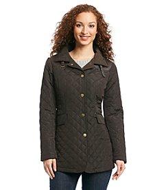 Jones New York® Snap Front Quilt Jacket