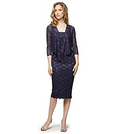 Alex Evenings® Lace Cocktail Dress