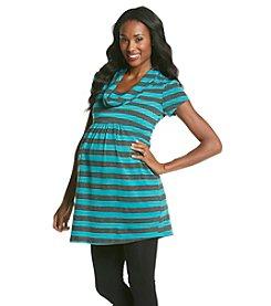 Three Seasons Maternity™ Drape Cowl Neck Tunic