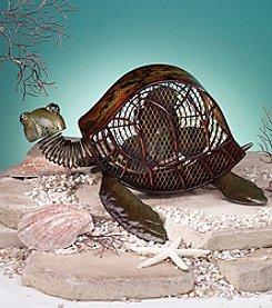 Deco Breeze Sea Turtle Figurine Fan