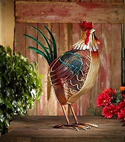 Deco Breeze Rooster Country Figurine Fan
