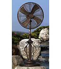 """Deco Breeze 18"""" Adjustable Capri Outdoor Standing Fan"""
