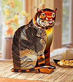 Deco Breeze Bengal Tiger Figurine Fan