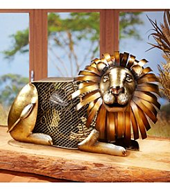 Deco Breeze Lion Figurine Fan