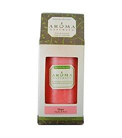 Aroma Naturals® Hope Aromatherapy Pillar Candle