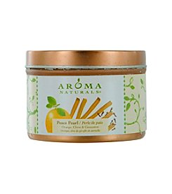 Aroma Naturals® Peace Pearl Aromatherapy Tin Soy Aromatherapy Candle