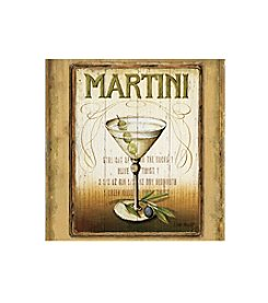 Thirstystone® Occasions Set of Four Martini Drink Coasters