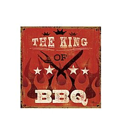 Thirstystone® Occasions Set of Four King of BBQ Drink Coasters