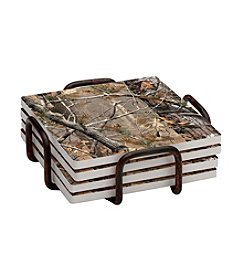 Thirstystone® Occasions Set of Four Realtree Camo Drink Coasters