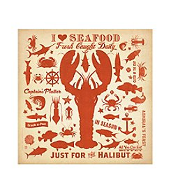 Thirstystone® Occasions I Love Seafood Trivet