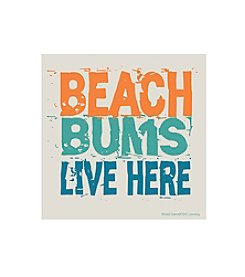 Thirstystone® Occasions Set of Four Beach Bums Live Here Drink Coasters