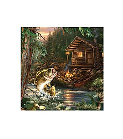 Thirstystone® Occasions Set of Four Gone Fishin' Drink Coasters
