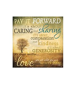 Thirstystone® Occasions Set of Four Pay It Forward Drink Coasters