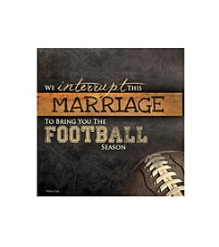 Thirstystone® Occasions Set of Four Football Season Drink Coasters
