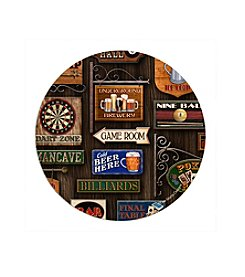 Thirstystone® Set of Four Game Room Round Drink Coasters