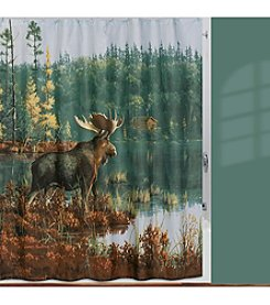 Creative Bath™ Back Bay Moose Shower Curtain