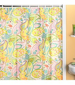 Creative Bath™ Cool Paisley Shower Curtain