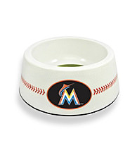 Miami Marlins GameWear™ Classic Baseball Pet Bowl