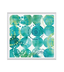 Greenleaf Art Raindots Framed Canvas Art