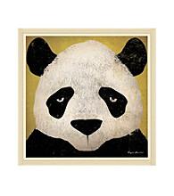 Greenleaf Art Panda Framed Canvas Art