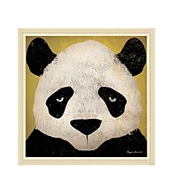 Greenleaf Art Panda Framed Canvas Art