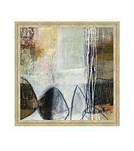 Greenleaf Art Abstract Pebble Framed Canvas Art