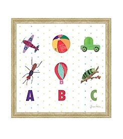 Greenleaf Art ABC I Framed Canvas Art