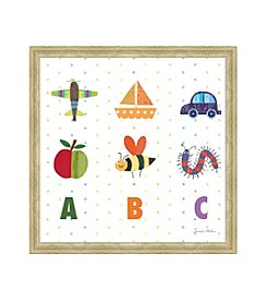 Greenleaf Art ABC II Framed Canvas Art