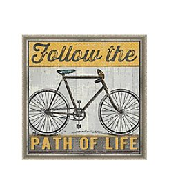 Greenleaf Art Follow the Path of Life Framed Canvas Art