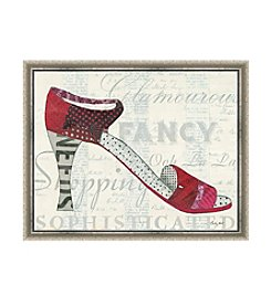 Greenleaf Art Red Heel Framed Canvas Art