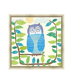 Greenleaf Art Owl Framed Canvas Art