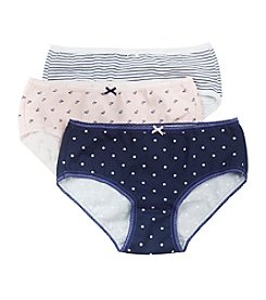 Carter's® Girls' 3-pk. Striped Briefs