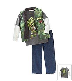 Nannette® Boys' 2T-7 3-pc. TMNT Set