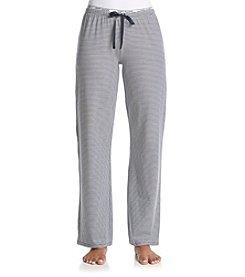 Tommy Hilfiger® Logo Knit Pants - Navy/Ivory Mini Stripe