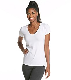 Tommy Hilfiger® V-Neck Knit Top - Bright White
