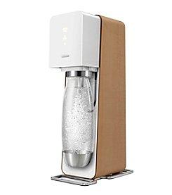 SodaStream Source White & Wood Home Soda Maker