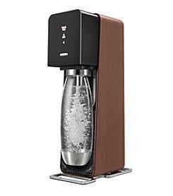 SodaStream Source Black & Wood Home Soda Maker