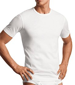Calvin Klein Men's 2-Pack Cotton Stretch Short Sleeve Crew Tee