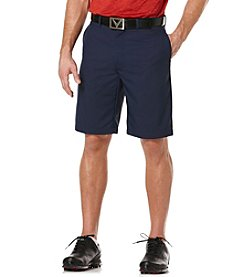 Callaway® Men's Flat Front Microfiber Tech Shorts