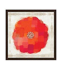 Greenleaf Art Flower Power Framed Canvas Art
