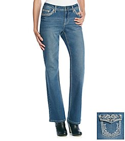 Earl Jean® Sparkle Stud Embroidered Jean
