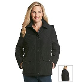 Breckenridge® Short Quilted Hooded Coat
