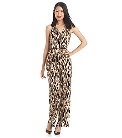 Calvin Klein Animal Print Jumpsuit