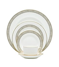 Vera Wang® Gilded Weave China Collection