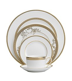 Vera Wang® Vera Lace Gold China Collection